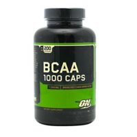 Optimum BCAA 1000 Caps helps build muscle and prevent muscle breakdown
