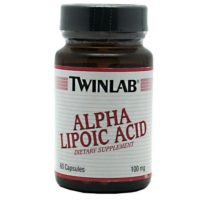 TwinLab ALPHA LIPOIC ACID is a good anti-oxidant and supports optimal health.
