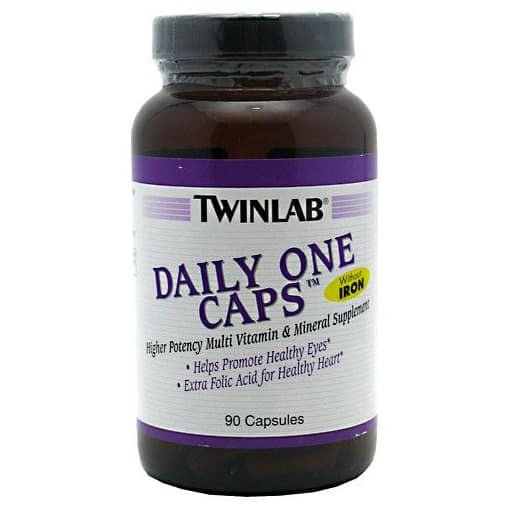 TWINLAB Daily One Caps Without Iron promotes eye health, heart health, and over all general health.