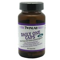 TWINLAB Daily One Caps With Iron is a high potency vitamin and mineral supplement helping with over all health.