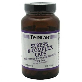 Twinlab Stress B-Complex helps with overall health