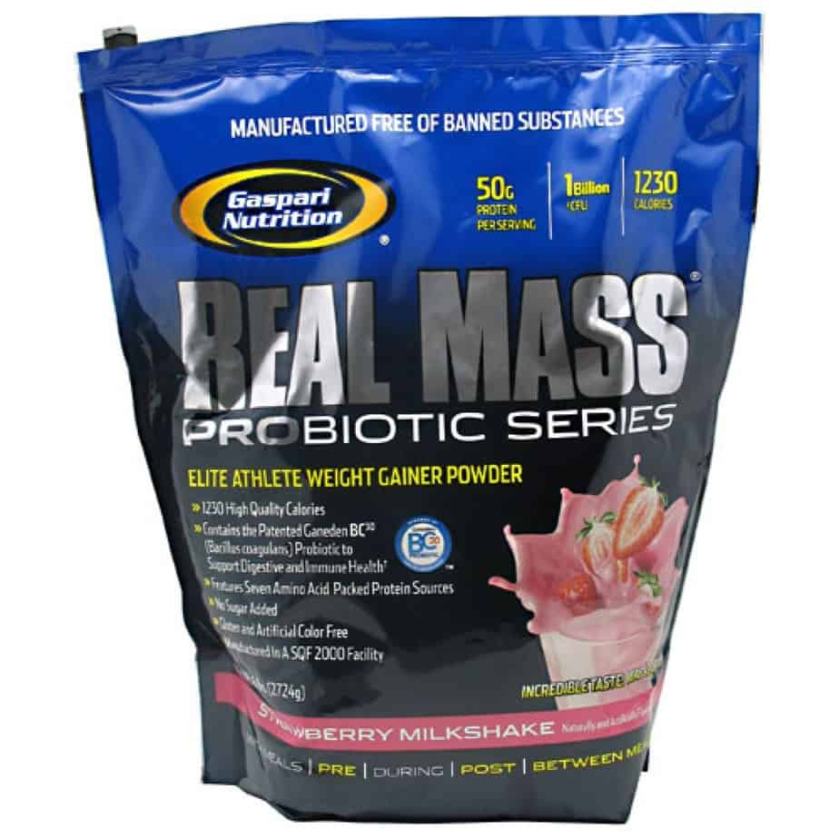 Gaspari Real Mass Probiotic - 6 lbs. - Stayfitcentral