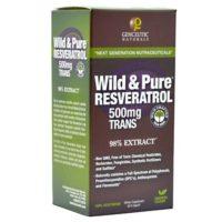 Genceutic Naturals Wild & PureResveratrol