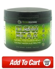 Clean Machine BCAA to train harder,longer!