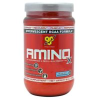 BSN AMINO-X for pre-workout energy and post-workout recovery.
