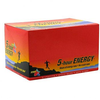 5 Hour Energy helps increase energy