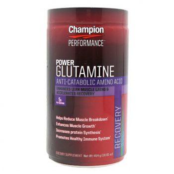 Champion POWER Glutamine Optimal Health