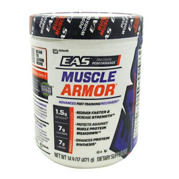 EAS Muscle Armor increases workout energy, speeds recovery and helps build muscle.