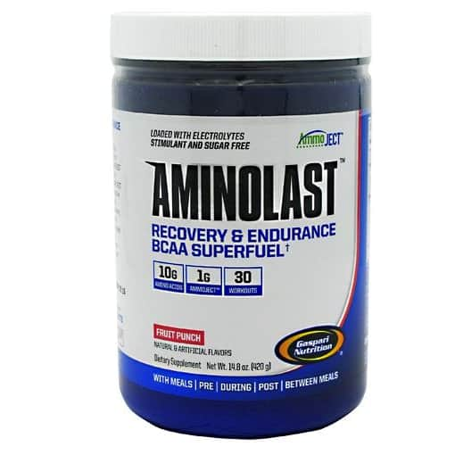 Gaspari Aminolast Pre & Post Workout Energy & Recovery Drink