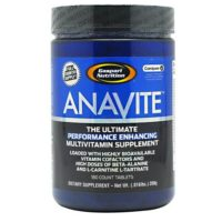 Gaspari Anavite Tablets provides essential nutrition, gives muscle energy to workout harder and longer, aids in recovery.