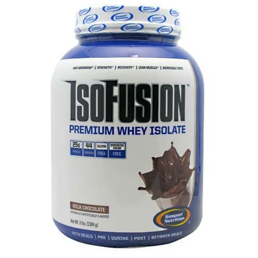 Gaspari Nutrition is gluten FREE, low carb, increases strength and energy, helps build muscle and with post-workout recovery .