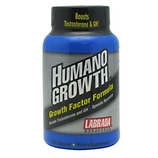 Labrada Humano Growth Increases Testosterone & Builds Muscle