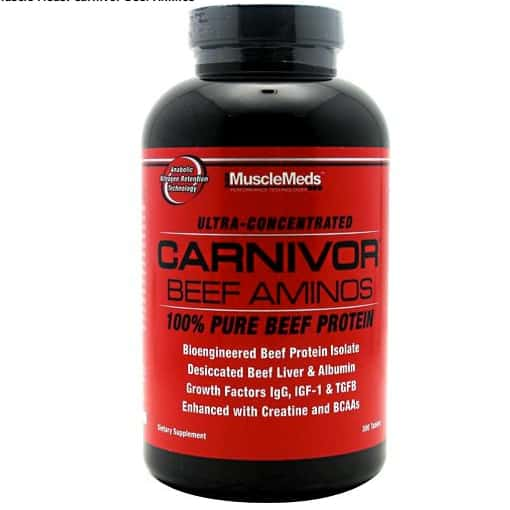 Muscle Meds Carnivore Beef Aminos