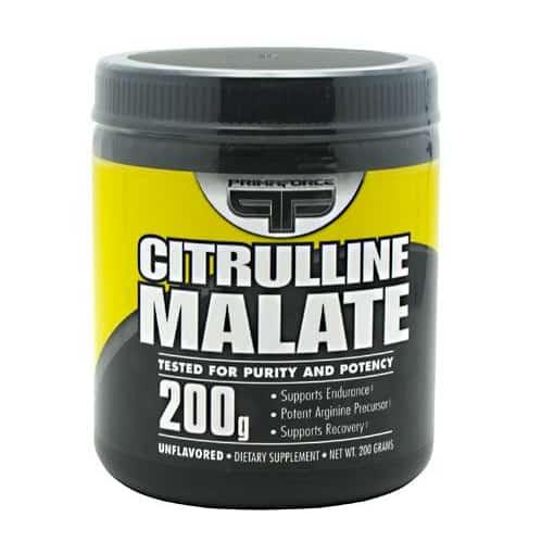 Citrulline malate muscle growth