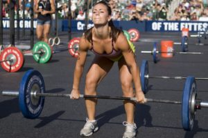 Woman Deadlift Crossfit And Low Carb Diets