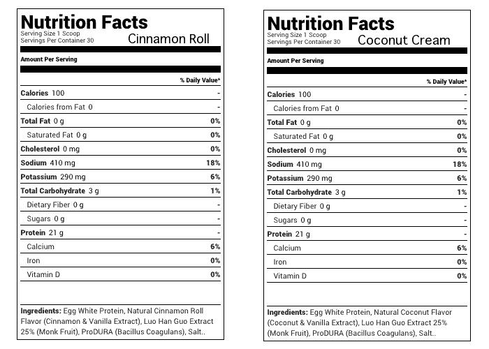Julian Baker Paleo Protein Ingredients