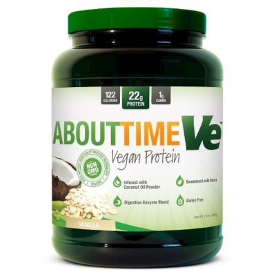 About Time VE Vegan Protein Powder - 2Lbs.