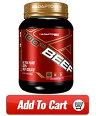 adaptogen beef protein powder