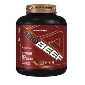adaptogen 100 percent beef protein powder
