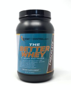 Better Whey - all natural whey protein